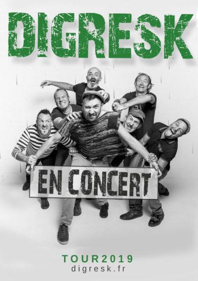 Digresk en concert