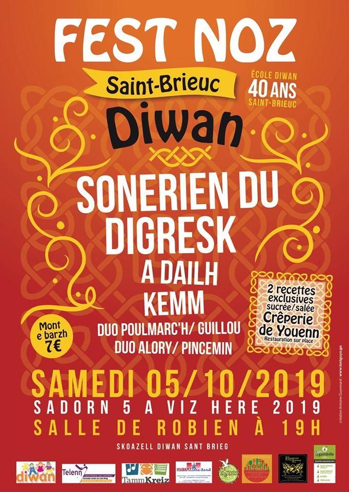 40 ans Diwan - Saint-Brieuc-Digresk